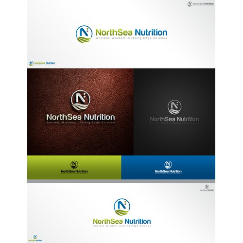 Create a logo for NorthSea Nutrition, nonGMO, organic, proven by science nutritional supplements