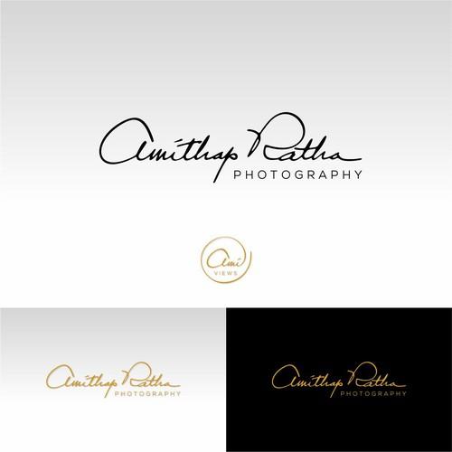 Handwritten and luxurious Logo for splendorous photographer