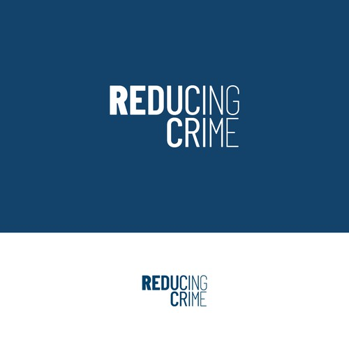 An original and clever logo design for Reducing Crime