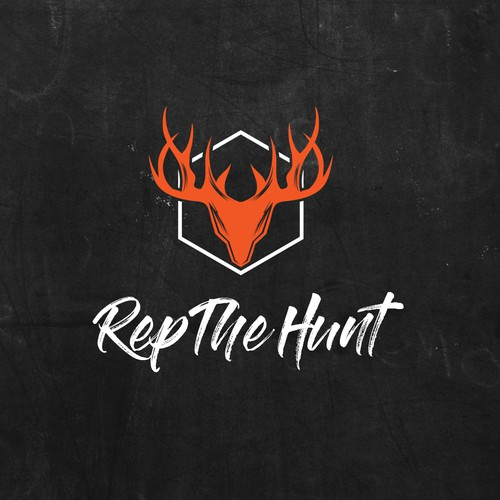 Logo for a Hunting brand