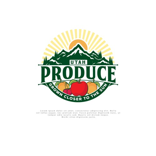 Logo for Utah Produce