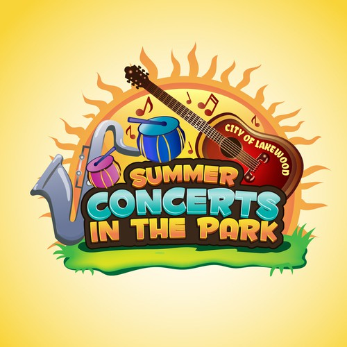 Event logo for concerts in park