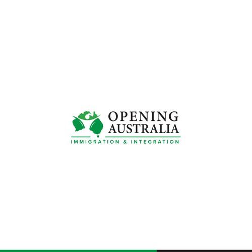 Opening australia logo