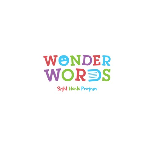 "Create a Fun Logo For ""Wonder Words"" Educational Program"