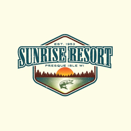 Hister logo concept for a family owned resort