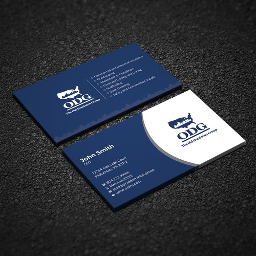 ODG Business Cards