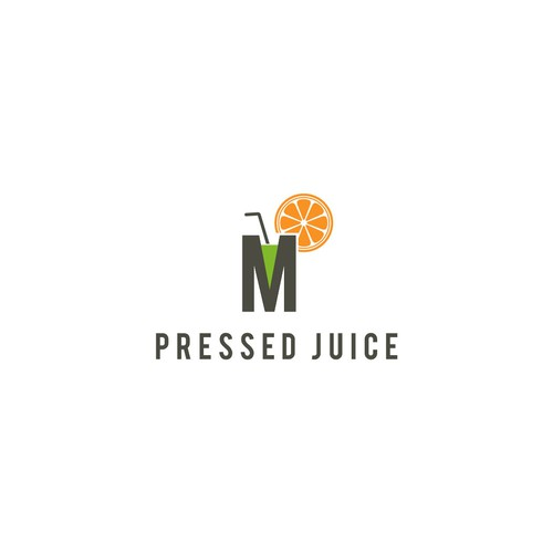 m pressed juice logo