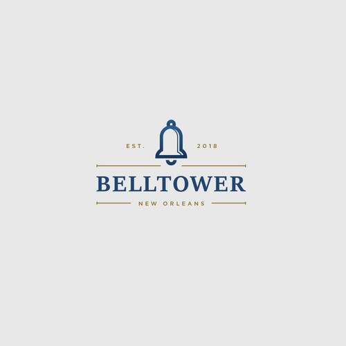 Classic and sophisticated logo for Belltower