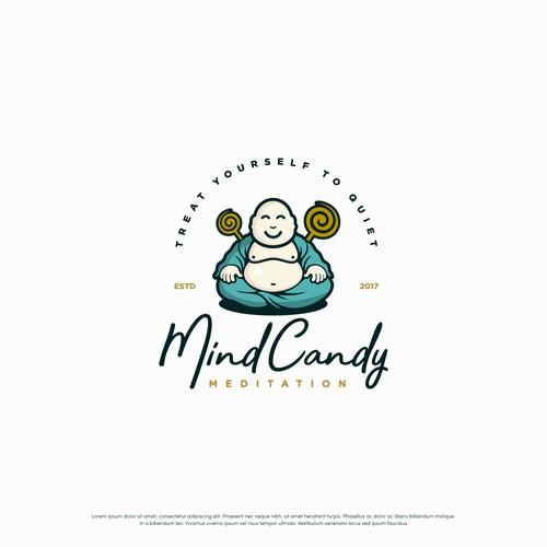Fun logo  for Mind Candy Meditation