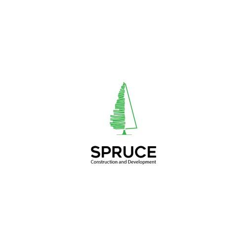 simple & elegant logo for Spruce