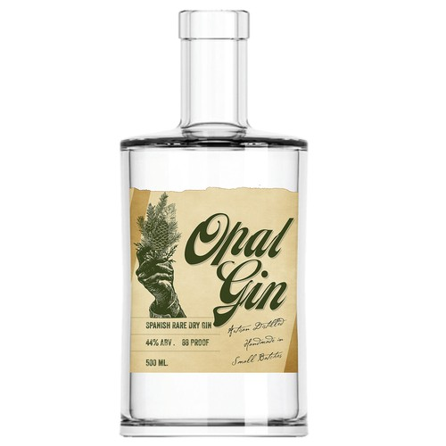 Gin Label