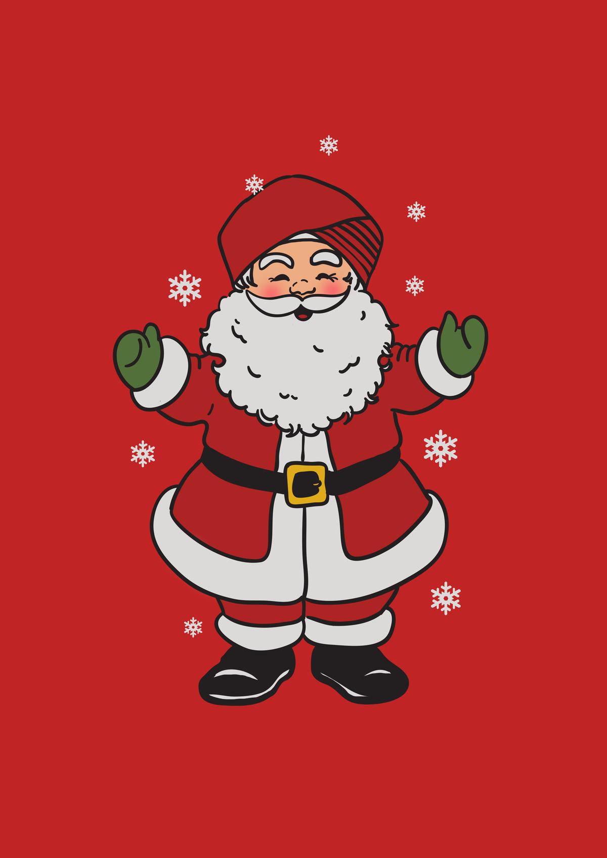 Christmas Santa with a Sikh Turban