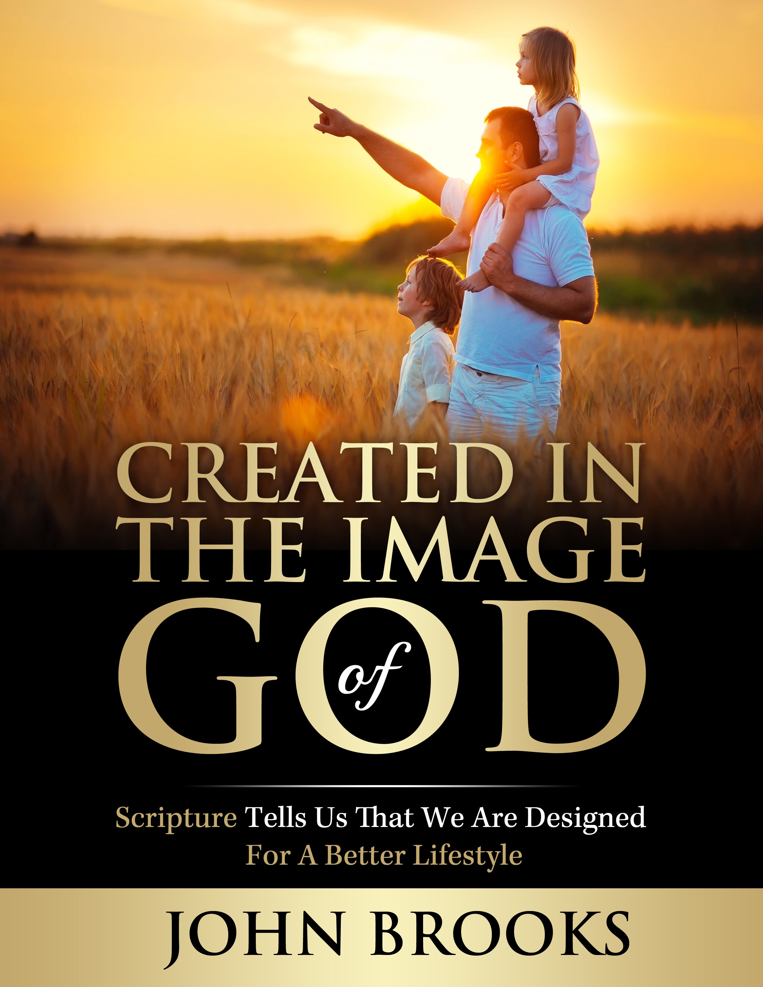 Promote Christian lifestyle in book cover