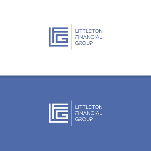 Logo for a financial company