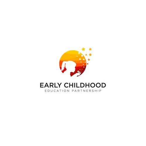 Child and stars logo