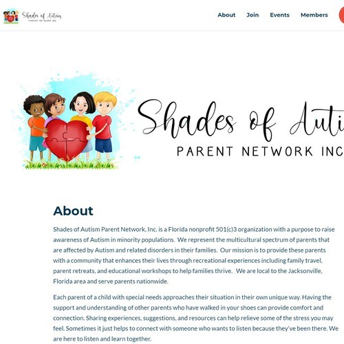 Shades of Autism Parent Network, Inc