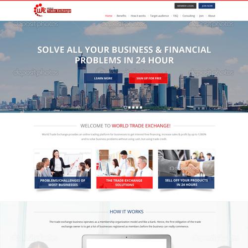 Design A World Class Website For World Trade Organization
