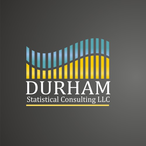 logo and business card for Durham