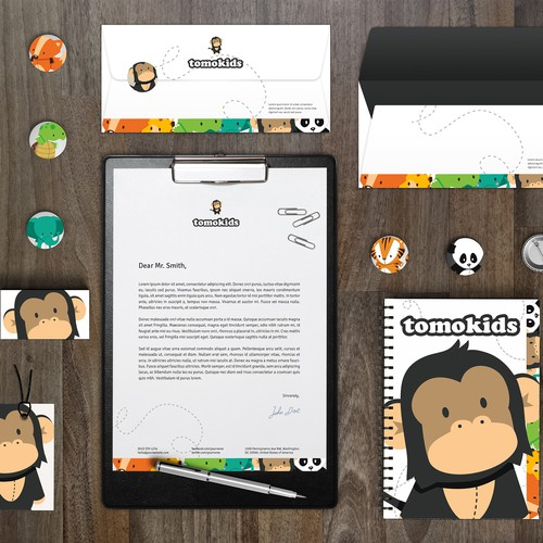 Brand identity for children products