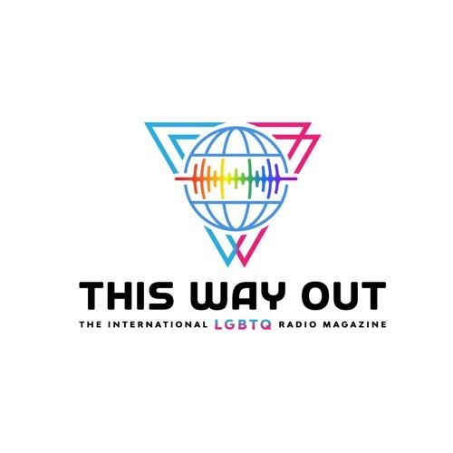 International LGBTQ radio Magazing Logo