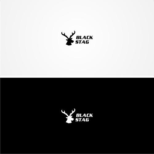 Black Stag Logo