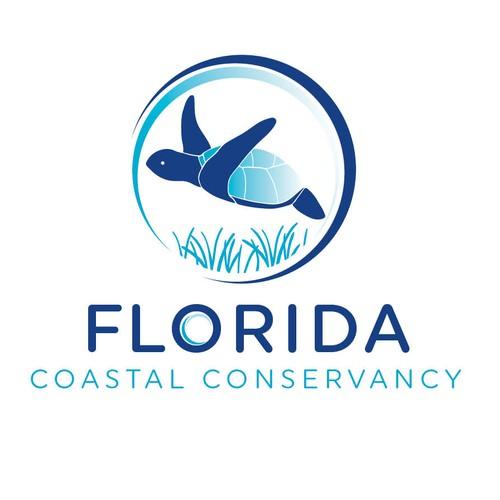 Sea Turtle Logo Design