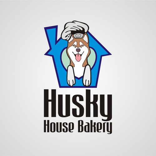 Create the next logo for Husky House Bakery