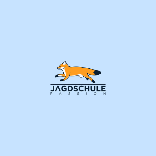 logo concept for Jagdschule Passion