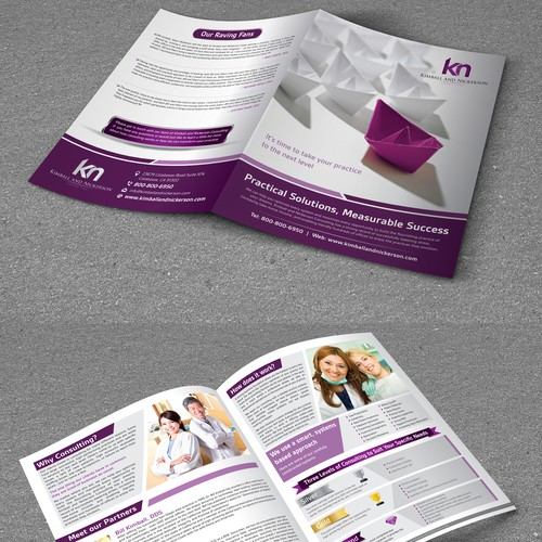 Bi-Fold Brochure for KN Consultants