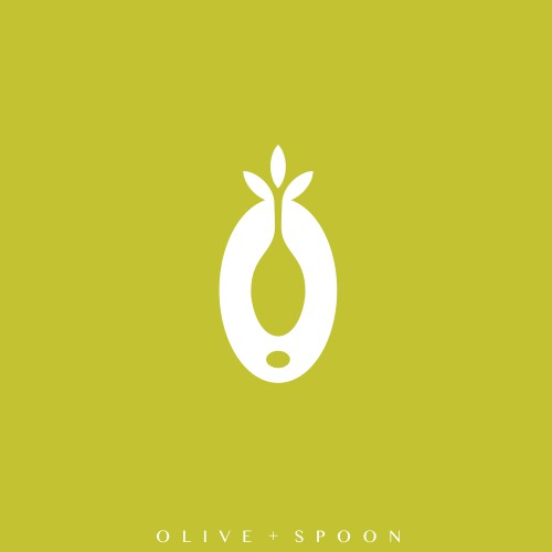 olive + spoon negative space