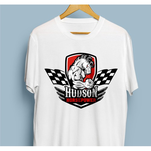 logo concept for hudson horsepower