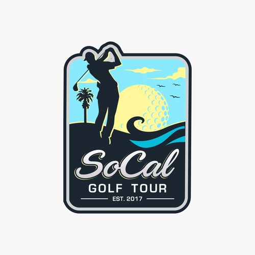 Southern California golf tour logo
