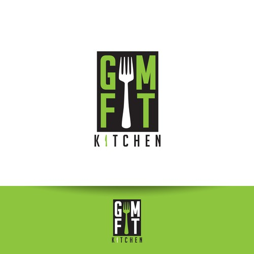 Logo Entry for GymFit Kitchen Contest