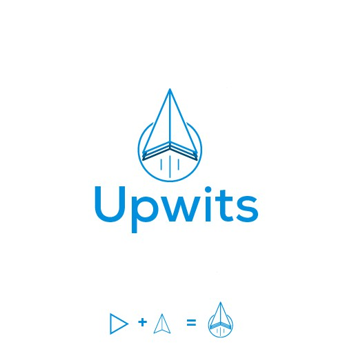 Simple and Clean Design for Upwits - an online entrepreneurs course
