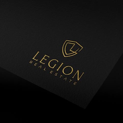 Logo contest winner for Legion Real Estate