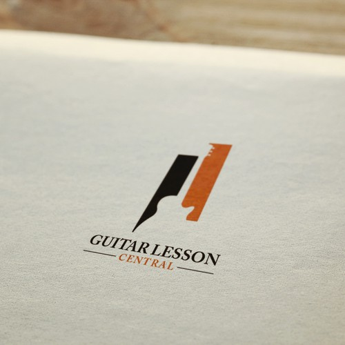 Help Guitar Lesson Central with a new logo