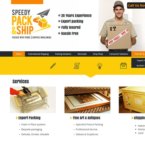 Sppedy Pack & Ship
