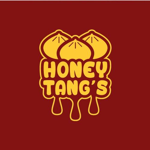 Bold logo for a dumpling restaurant