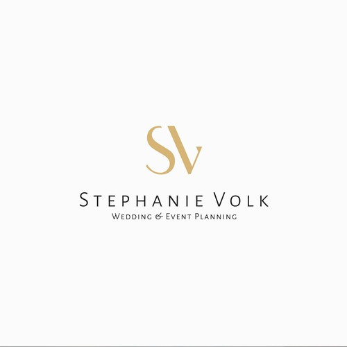 Modern and clean logo for Wedding & Event Planer