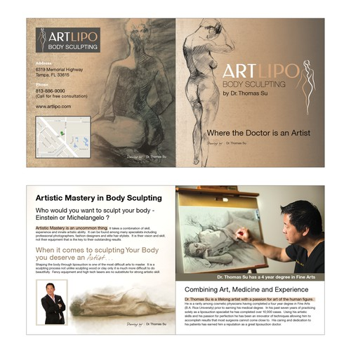Art Lipo - Artisitic Brochure