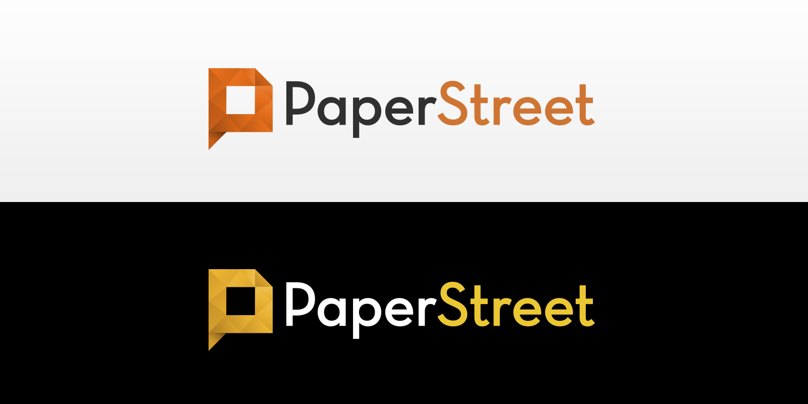 Create the next logo for Paper Street