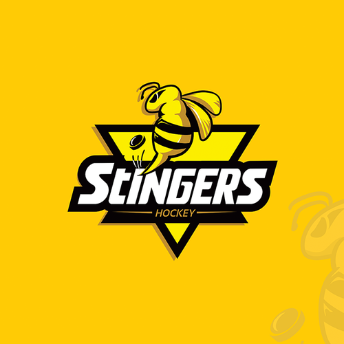 Hockey team logo concept