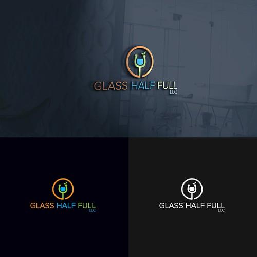 Logo for GLASS HALF FULL