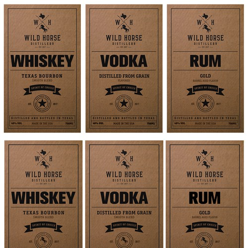 Spirits Labels