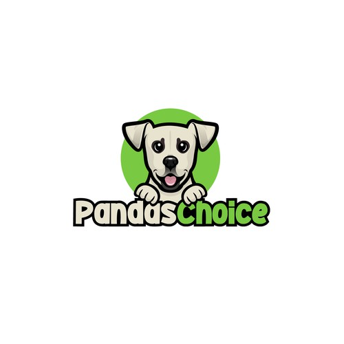 Logo for dog food and treats
