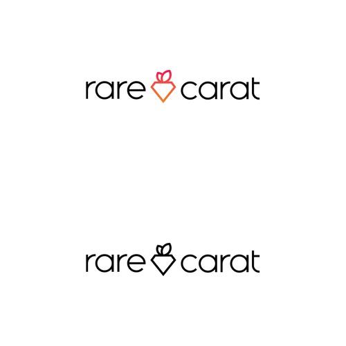 rare carat_logo concept