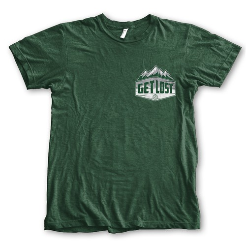 GET LOST BACKPACKER TEES