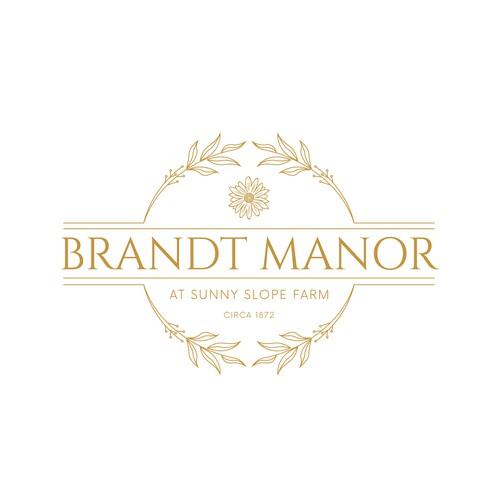 Logo for wedding venue
