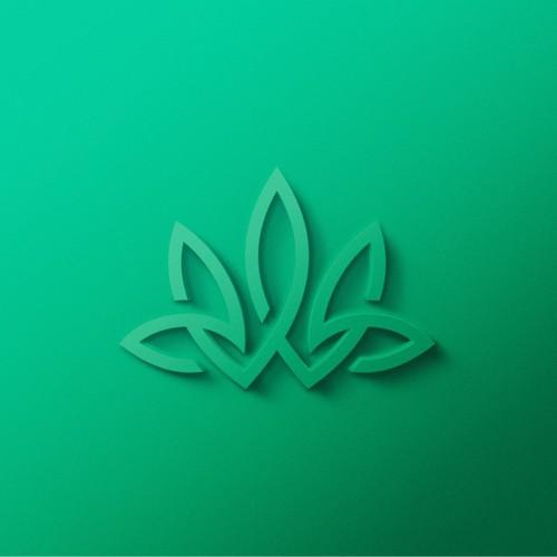 Bold Line Logo for Cannabis Company