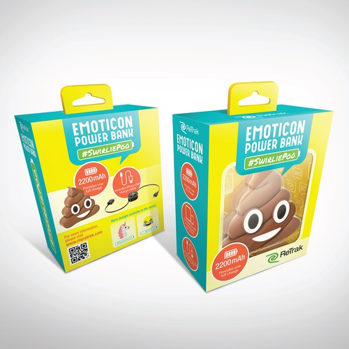 Emoji PowerBank Packaging